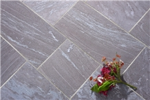 Carbon Grey Quartzite Tiles