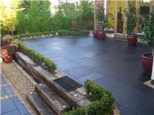 Lime Black Terrace Floor Pavement