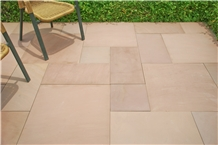 Merano Honed Autumn Brown Sandstone Paving Tiles