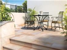 Siena Honed Modak Sandstone Paving Slabs & Tiles