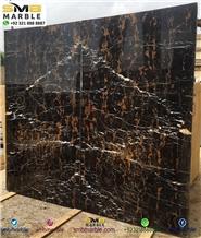 Black Gold Royal Marble Slabs & Tiles