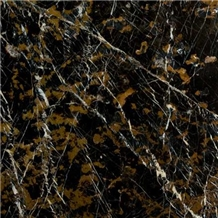 Micheal Angel / Black and Gold Slabs & Tiles,
