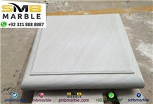 Polished White Limestone Tiles