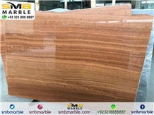 Yellow Wood Marble Slabs & Tiles,