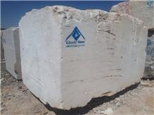 White Travertine Block