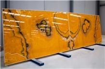 Orange Onyx Slabs, 2cm