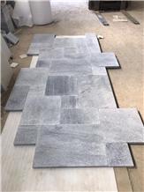 Grey Pearl Stone Pattern, Silver Grey Paving Stone
