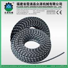 Diamond Wire Saw Stone Cutting, Marble Cutting, Granite Cutting, Good Quality