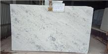 Crystal Sparkling White Marble Slabs