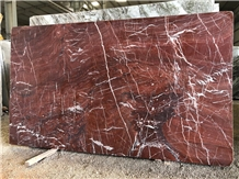 Red Levantino Marble Slab, Indo Levanto Red Marble Slabs