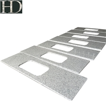 Solid Surface Granite Grey Kitchen Countertop