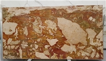 Breccia Pontificia Diaspro Rosso Marble Slab&Tile