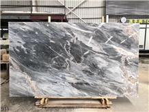 Blue Gray Marble Qorveh Crystal Crystal Qorveh
