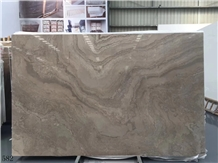 China Coffee Cafe Brown Marble Polished Slabs