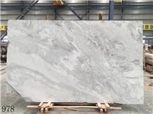 China Yabo Grey Marble Semi White Vatican Ashes