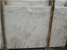 Moon Lotus White Marble Sichuan Wall Stone Tile