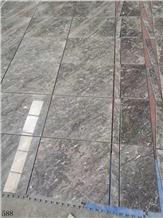 Ocean Gray Fossil Marble Floor Tiles 40x40cm