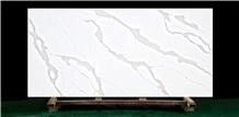 Calacatta Quartz Stone Project Slab