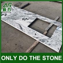 India Viscont White Granite Countertop Factory