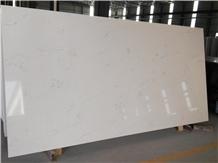 Artificial Carrara White Quartz for Bench Top