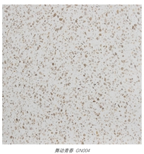 Beige Terrazzo Flooring Installation Tiles