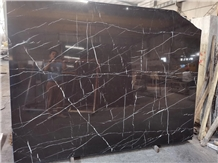 Black Marble Nero Marquina Marble Stone for Floor
