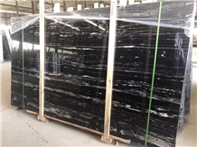 Black Silver Dragon Marble Stone Manufacturer