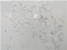 Carrara White Quartz Artificial Stone for Benchtop