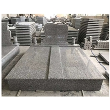 Cheap Chinese G664 Granite Tombstone for Europe