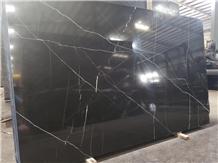 Chinese Polished Black Nero Marquina Marble