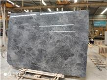 Italy Dark Starry Sky Grey Marble Slabs for Floor