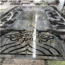 Marble Flooring Waterjet Medallions Luxury Village