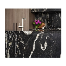 Nebula Black Cosmic Granite Kitchen Countertops