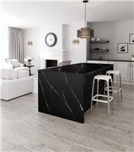 Nero Marquina Marble Custom Kichen Countertops