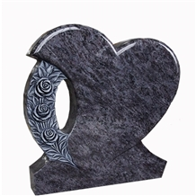 Orion/Bahama Blue Granite Western Style Tombstones