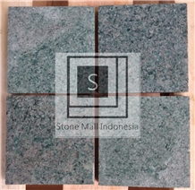 Sukabumi Green Stone Honed Tiles