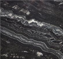 Agata Granite, Agatha Black Granite Slab
