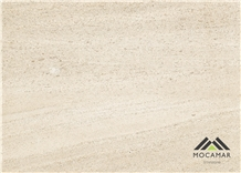 Moca Medium Grain Vein-Cut Limestone Tiles