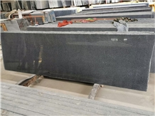 G654 Dark Grey Granite Half Slab Polished