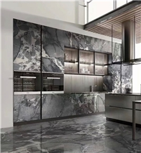 Quintessence Marble Tiles Cloudy Grey Marble