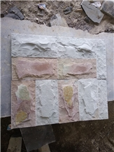Rock Faced Sandstone Split Wall Stone Tiles