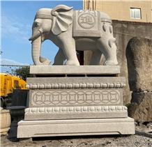Garden Animal Sculpture Memorial Park Stone Statue