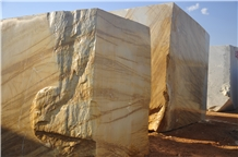 Antique Gold Block Marble Blocks
