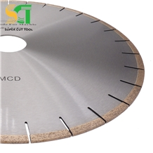 Diamond Tip Cutting Blade Used on Bridge Saw