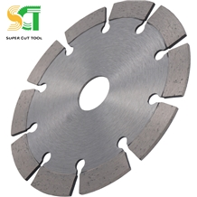 Diamond Tipped Circular Saw Blade in Grinder