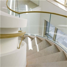 Thala Beige Limestone Stairs, Steps and Risers