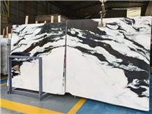 Chinese Marble China Panda White Slabs Tiles