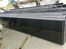 Polished Indian Impala Black Granite Slabs