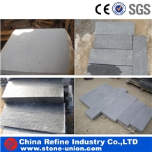 Hainan Honed Black Basalt Tiles & Wall Covering