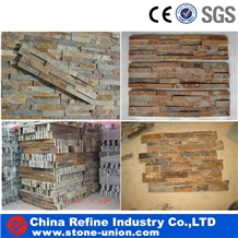 Rusty Slate Stacked Stone, Cultured Stone
